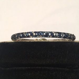 EFFY Jewelry - Effy Sterling Silver Round Blue Sapphire Bangle